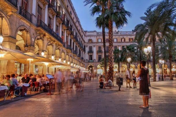 barcelona-plaza reial